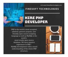 Hire dedicated PHP Developer – FineSoft Technologies
