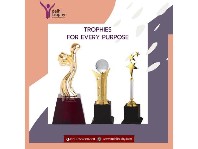Delhi Trophy Manufacturer   Awards, Mementos, Trophies