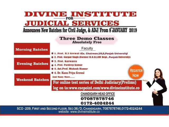 Divine Institute - CLAT Coaching In Chandigarh