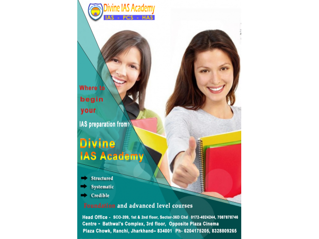Best IAS Coaching in Chandigarh - Divine IAS Academy
