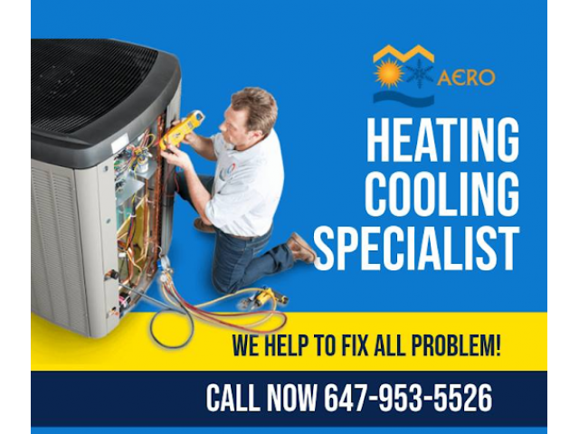 Aero Heating, Cooling, Furnace, Fireplace, Water Heater and Gas Appliance Repair Newmarket